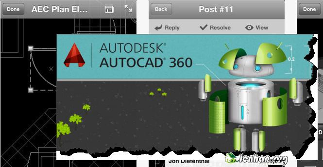 tinh nang Autocad 360
