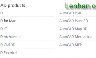 Hướng dẫn download autocad từ Autodesk.com