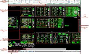 Khám phá giao diện mới trong Autocad 2014