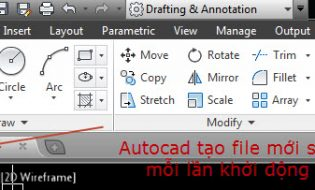 Hướng dẫn cấu hình AutoCAD để tăng tốc độ làm việc