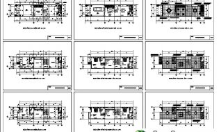 [Download] Một số bản vẽ nhà phố đẹp có bề rộng 5m