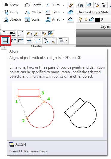 how to use cad move tool