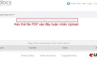 Cách chuyển đổi file PDF sang autocad (PDF to DWG) miễn phí