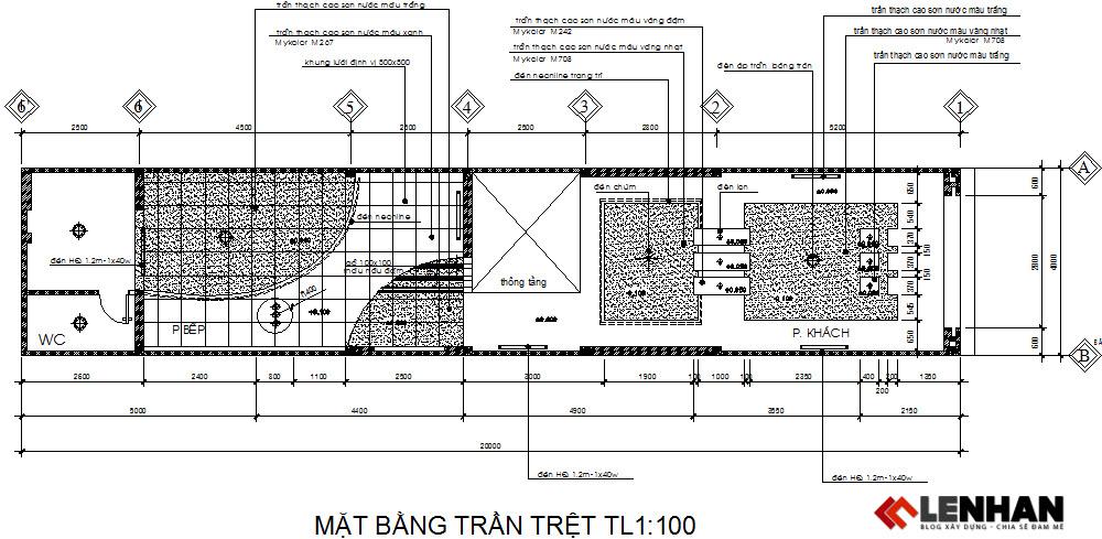 [Chia sẻ] 3 File bản vẽ cad nhà phố có mặt tiền 4m