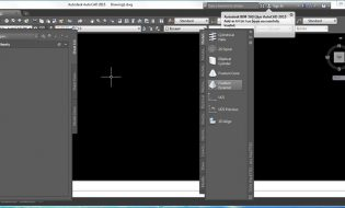 Lấy lại giao diện classic workspace Autocad 2015