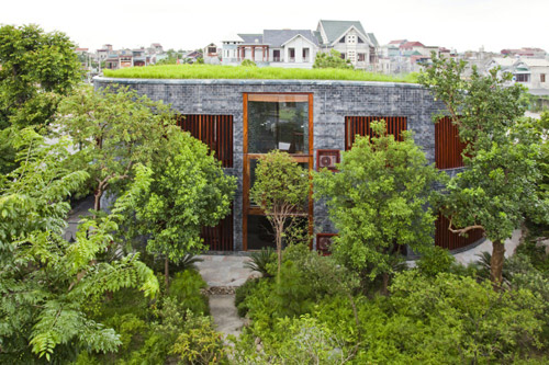 Công trình Stone House đoạt giải Kiến trúc xanh 2013-2014