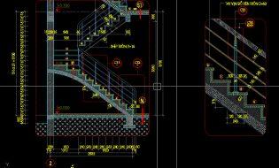 Thư viện Autocad bản vẽ cầu thang đẹp và thống dụng