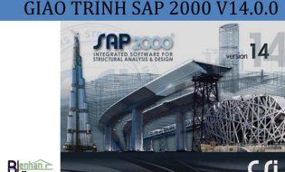 Bộ giáo trình sap2000 v14 đầy đủ nhất