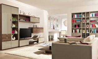 9 mẫu phòng khách đẹp theo phong cách phương tây
