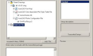 eTransmit – Công cụ đóng gói file Autocad