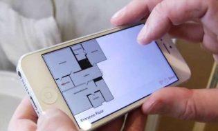 Vẽ nhanh mặt bằng với ứng dụng RoomScan