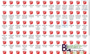 Tải miễn phí 116 File thư viện sketchup đồ nội thất