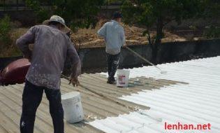 Giải pháp chống nóng cho mái tôn
