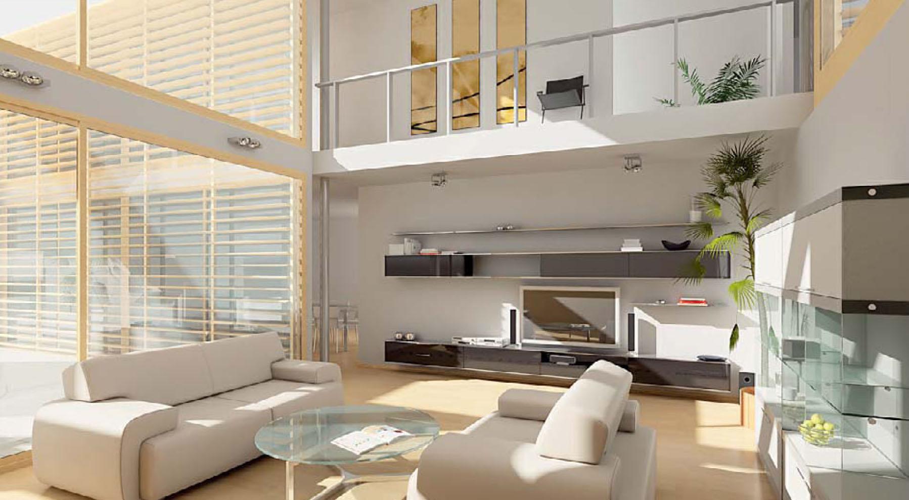 Thiết kế nội thất phòng khách đẹp4