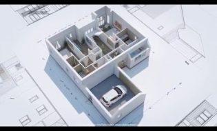 Bản thiết kế nhà 3D quá ấn tượng, đố bạn biết họ đã sử dụng phần mềm nào để tạo nên?