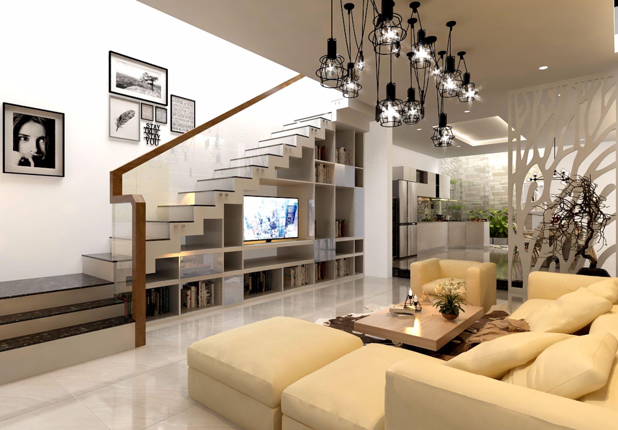 Thiết kế nội thất phòng khách đẹp3