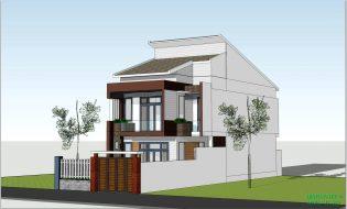 Thiết kế nhà phố đẹp 7x18m hiện đại với kinh phí chỉ 1,2 tỷ đồng