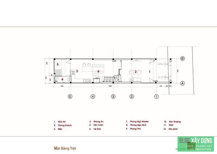 Mau thiet ke nha pho 2.5 tang dep hien dai tren dat 4x18m (1)