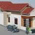 Tặng thành viên Blog xây dựng mẫu thiết kế nhà cấp 4 một tầng mái thái 6x26m MS: NC4-2017-10