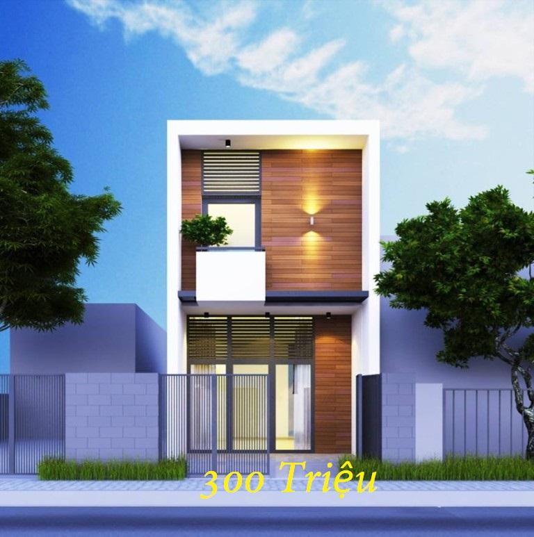 Lung Linh Nhà phố 2 tầng đẹp giá rẻ trên đất 4x17m chi phí 300 triệu