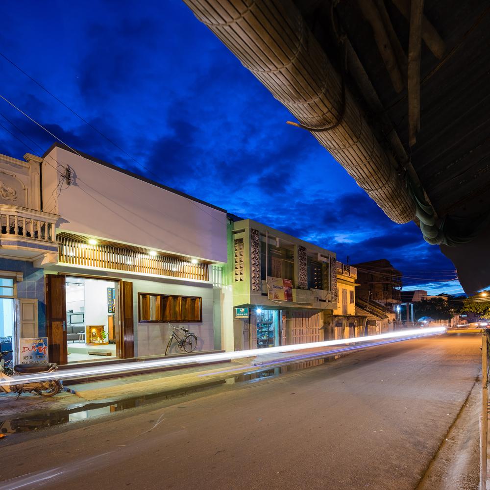 Nhà cấp 4 một tầng đẹp hiện đại nổi bật giữa phố Phan Thiết- TP House