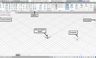 Vùng làm việc 3D trên Autocad