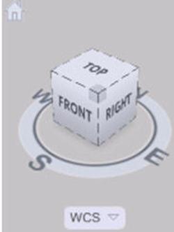 Tìm hiểu chức năng view cube