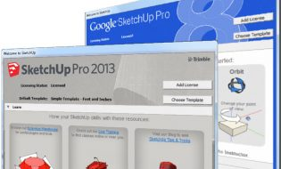 SketchUp 8 vs SkechUp 2013