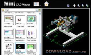 Xem-file-cad-Mini-CAD-Viewer