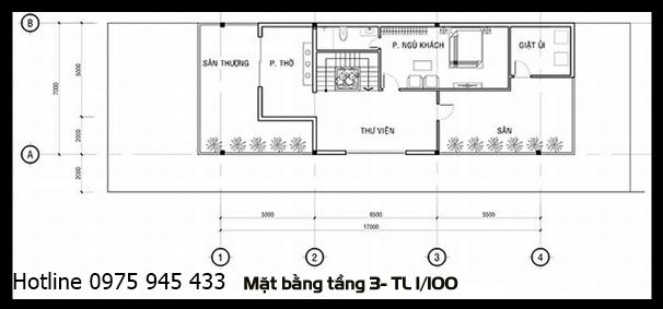 mat bang tang 3 mau nha pho dep 3 tang 7x20