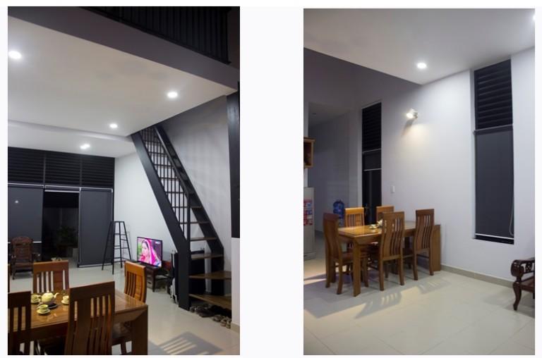phoi canh1 - Thiết kế nhà phố 2 tầng đẹp giá rẻ trên đất 4x17m chi phí 300 triệu