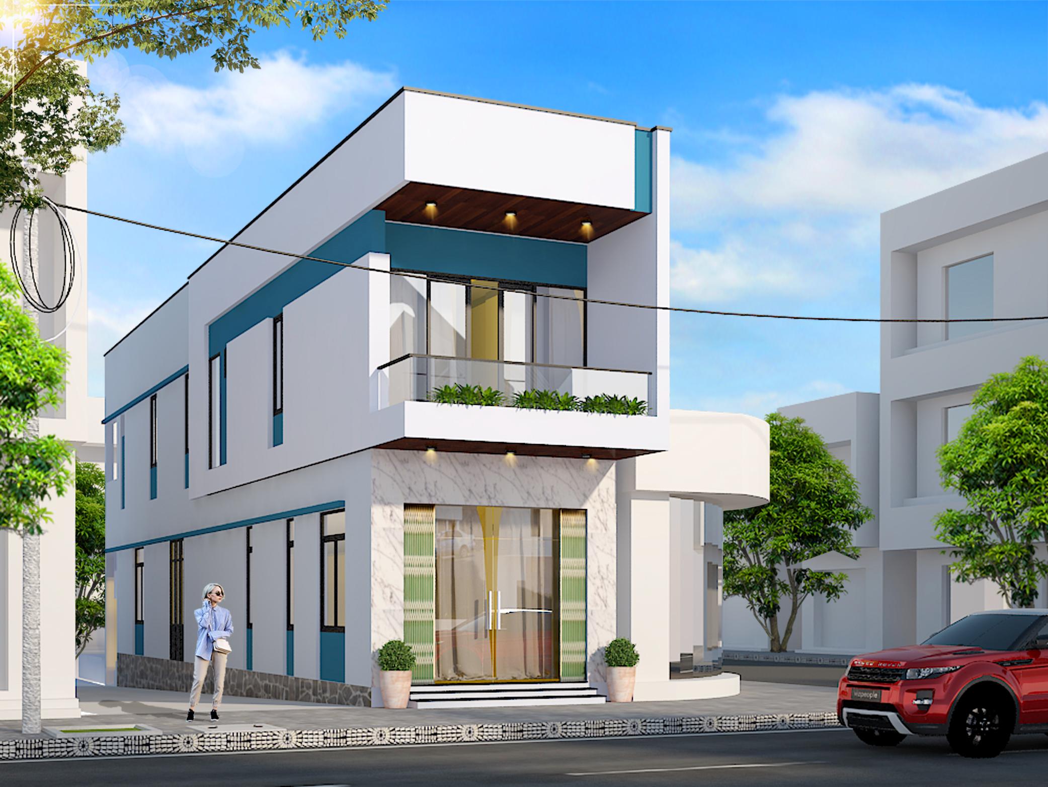 Nhà phố kết hợp kinh doanh 4.2x23m